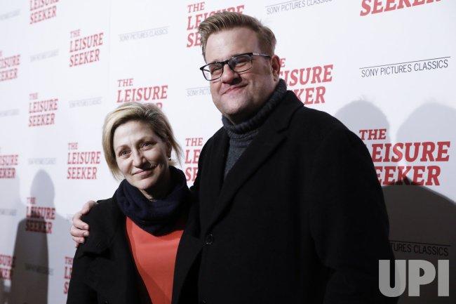 Edie Falco at 'The Leisure Seeker' New York Screening