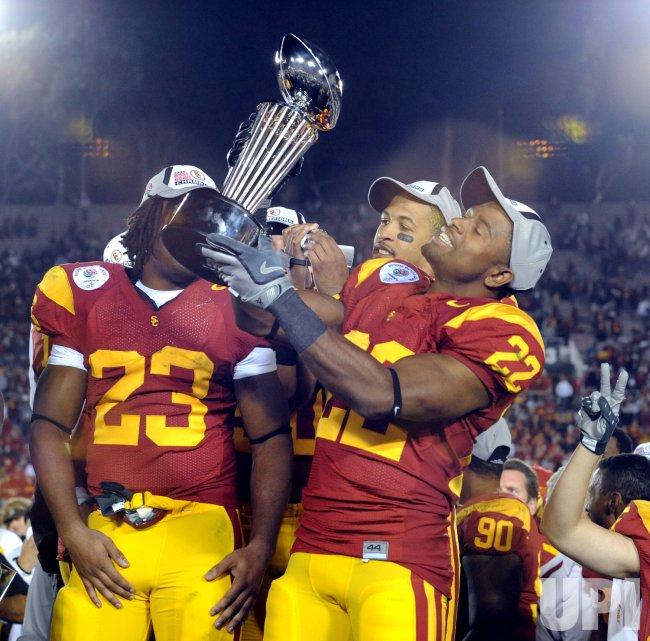 Rose Bowl Illinois vs USC in Pasadena, California