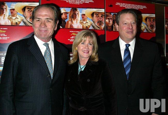 """THE THREE BURIALS OF MELQUIADES ESTRADA"" PREMIERE"