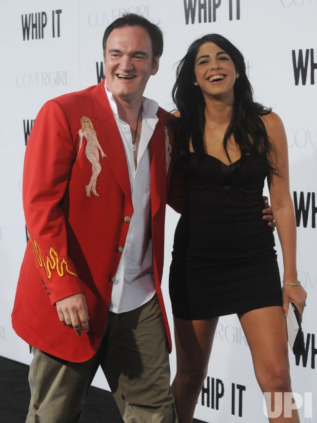 "Quentin Tarantino attends ""Whip It"" premiere in Los Angeles"