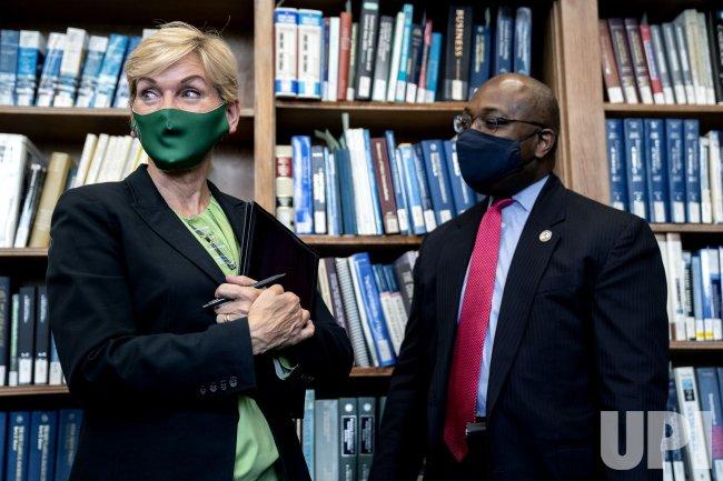 Energy Secretary Jennifer Granholm Holds Roundtable at Howard Universtiy