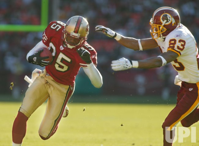 SAN FRANCISCO 49ERS VS WASHINGTON REDSKINS