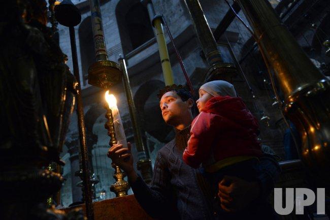 Ash Wednesday, Jerusalem