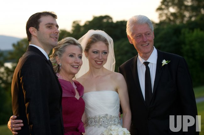 Chelsea Clinton and Marc Mezvinsky wed in New York