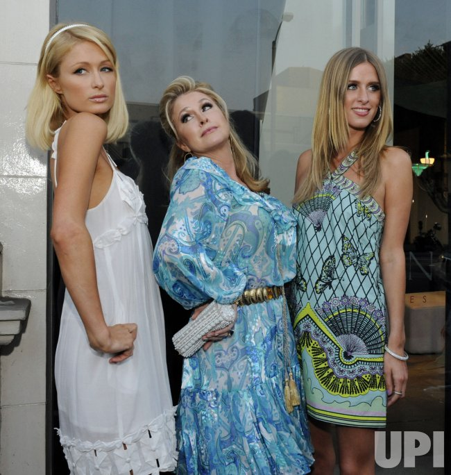 Paris Hilton hosts charity auction in Los Angeles