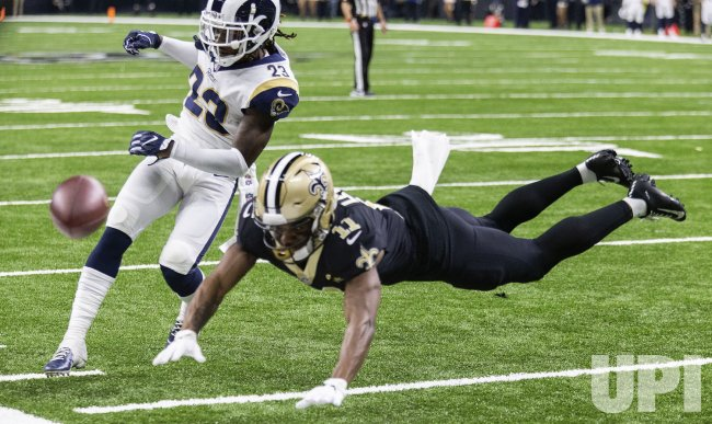 The Los Angeles Rams defeat the New Orleans Saints in the NFC Championship