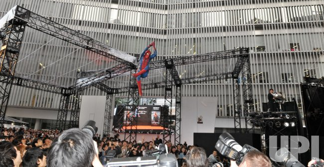 """The Amazing Spider-Man"" World premiere in Tokyo"