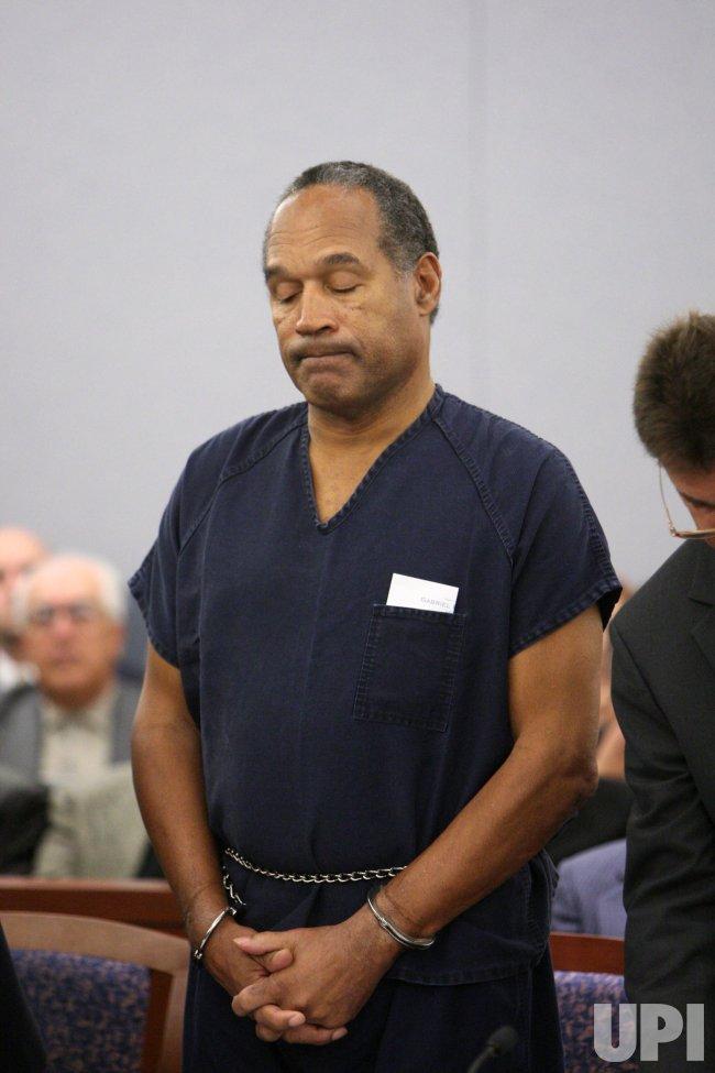 O.J. Simpson trial sentencing in Las Vegas