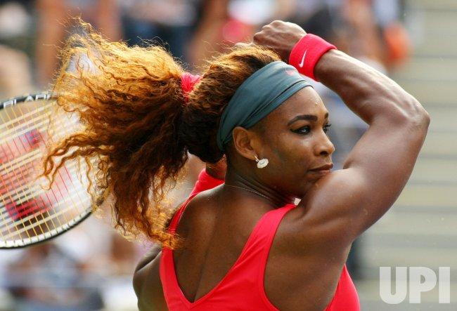 Serena Williams vs Sloane Stephens at the U.S. Open in New York