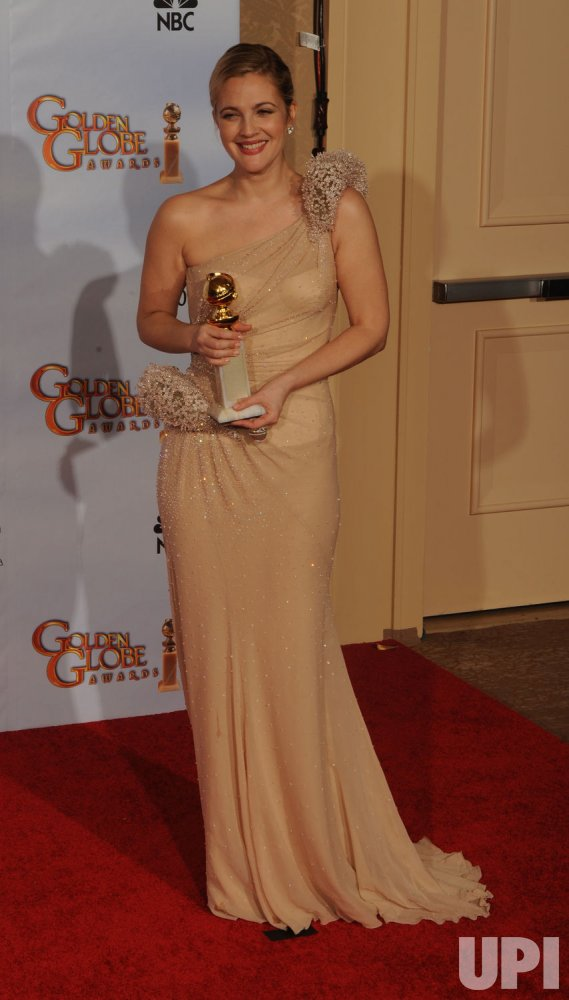 Drew Barrymore wins at the 67th annual Golden Globe Awards