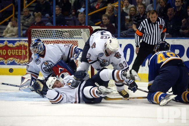 EDMONTON OILERS VS ST. LOUIS BLUES HOCKEY
