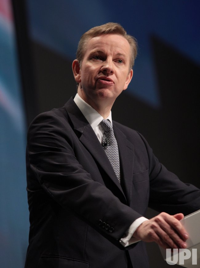 Michael Gove delivers his Keynote speech at the Conservative Party Conference 2009.