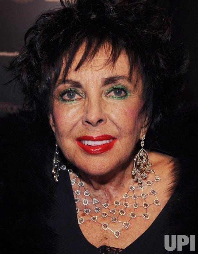 Elizabeth Taylor attends Macy's Passport gala in Santa Monica, California
