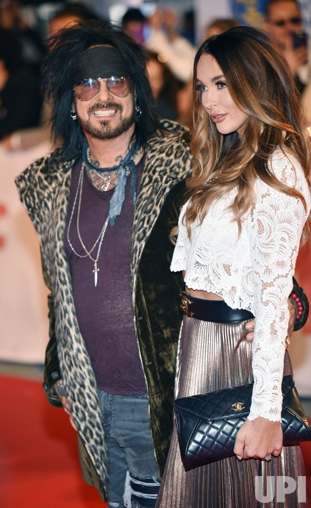 Nikki and Courtney Sixx attend 'Long Time Running' world premiere at Toronto International Film Festival
