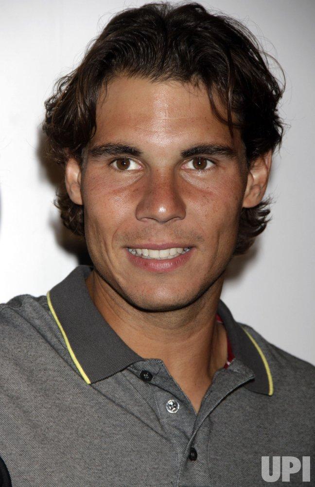 """Rafael Nadal arrives for the """"Taste of Tennis in New York"""