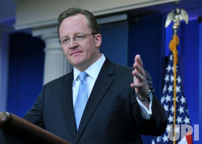 White House Press Secretary Robert Gibbs in Washington