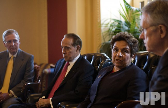 DOLE, SHALALA, REID, MCCONNELL DISCUSS HEALTHCARE FOR VETERANS IN WASHINGTON