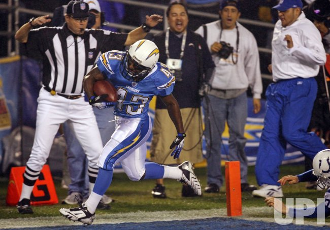 Indianapolis Colts vs San Diego Chargers