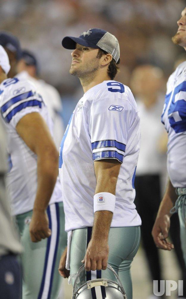 Cowboys Quarterback Tony Romo At HOF Game