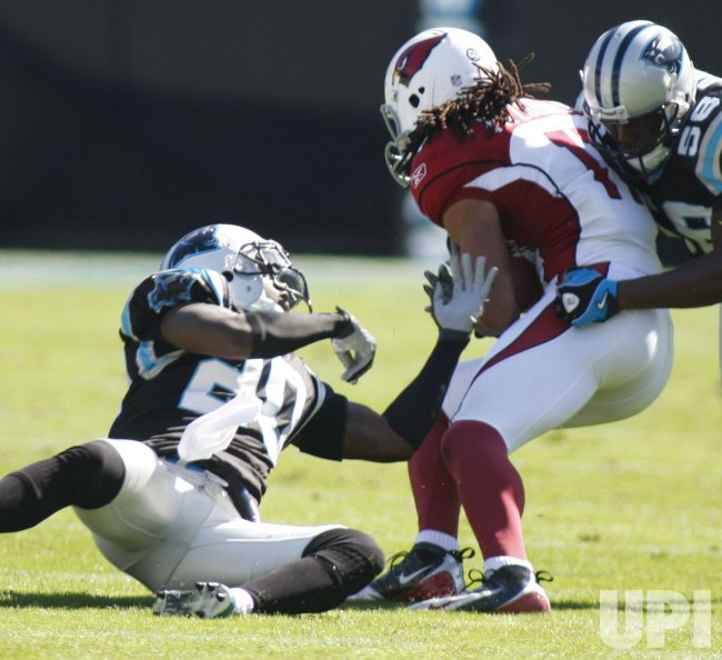 Carolina Panthers host the Arizona Cardinals in Charlotte