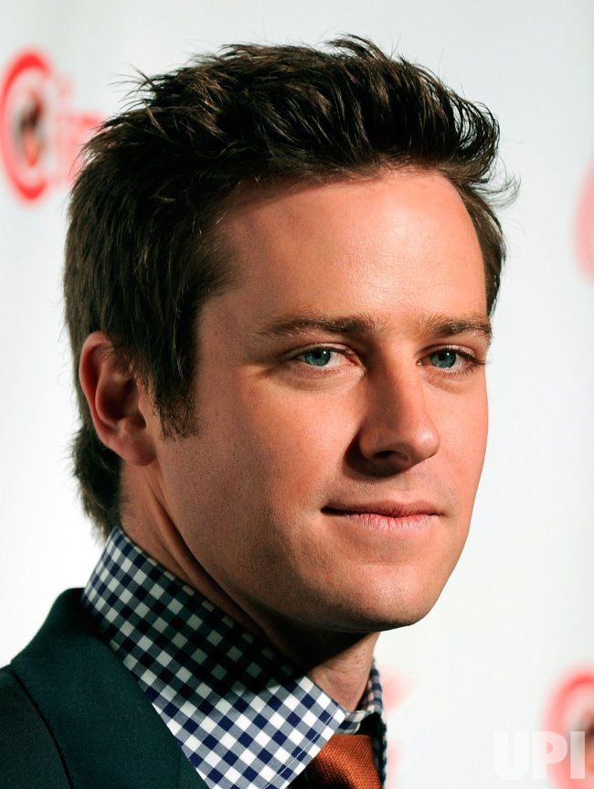 Armie Hammer arrives at the 2013 CinemaCon Awards Ceremony in Las Vegas