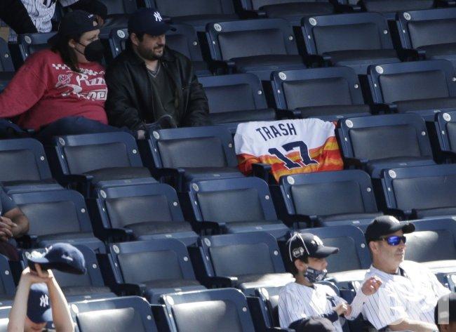 Houston Astros vs New York Yankees at Yankee Stadium