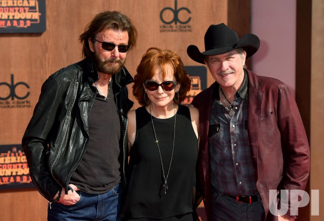 Reba McEntire and Brooks and Dunn attend the American Country Countdown Awards in Inglewood, Calif.