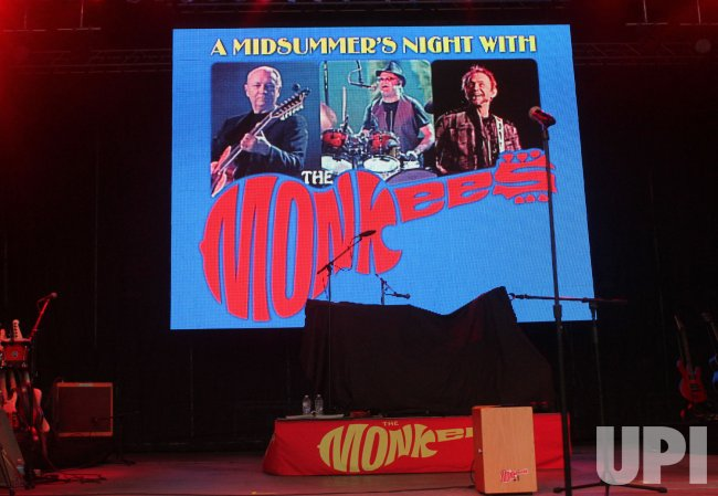 The Monkees perform in concert in Boca Raton, Florida
