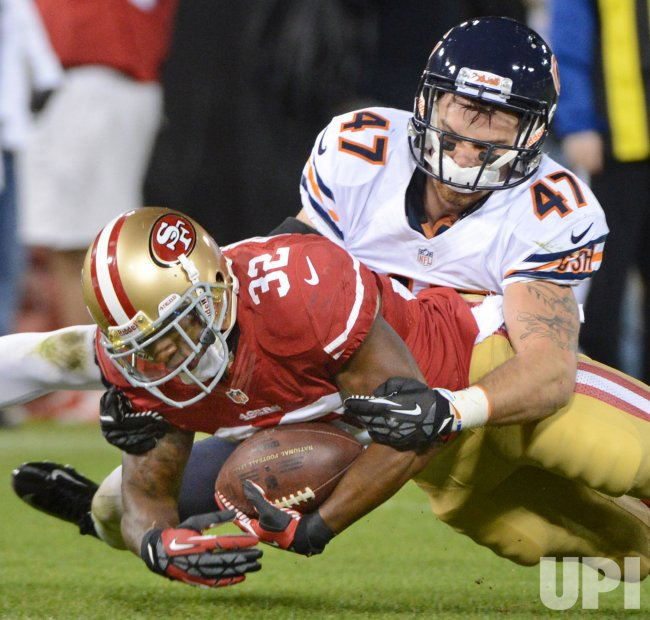 San Francisco 49ers vs Chicago Bears in San Francisco