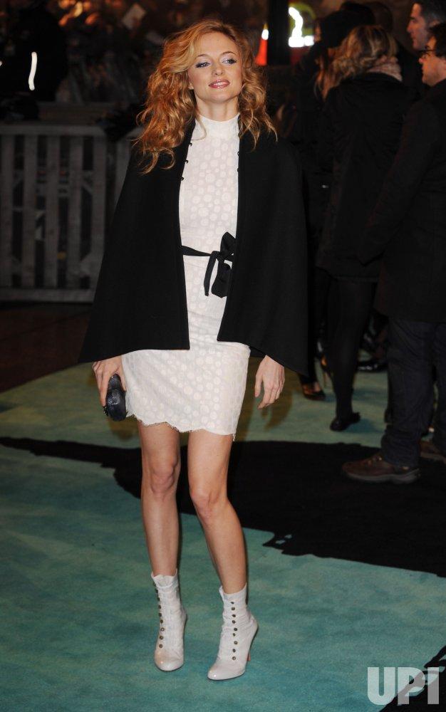 """Heather Graham attends """"Sherlock Holmes"""" premiere"""