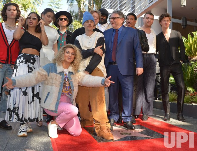 Sir Lucian Grainge receives star on the Hollywood Walk of Fame