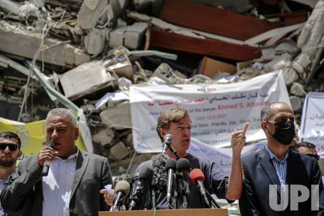 Sven Kuhn von Burgsdorff, European Union Representative Visits Gaza