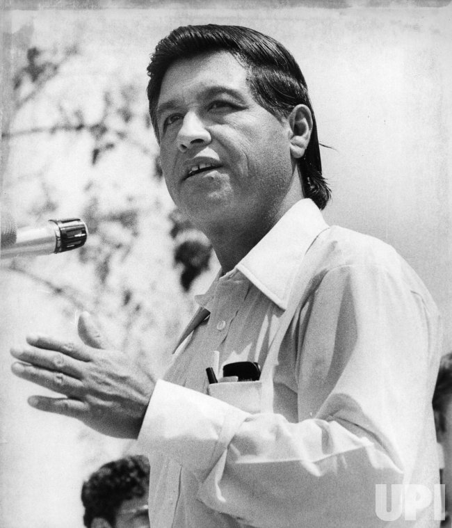 Farm Workers leader Ceasar Chavez