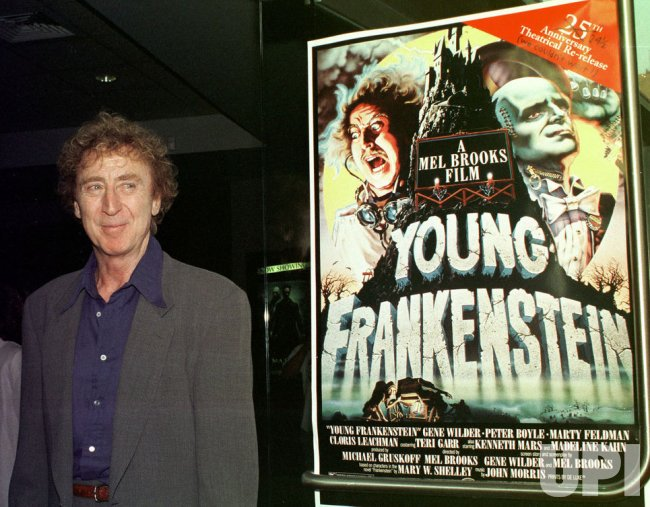 actor Gene Wilder announces that he has cancer