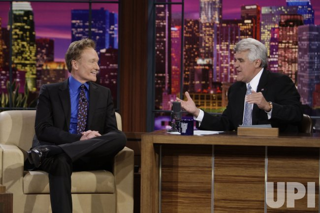 "Jay Leno ends 17 year run as host of ""The Tonight Show"" in Burbank, California"