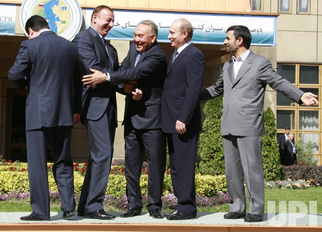 Caspian Sea Littoral States summit in Tehran