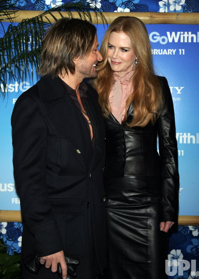 """Keith Urban and Nicole Kidman arrive at the """"Just Go With It"""" Premiere in New York"""