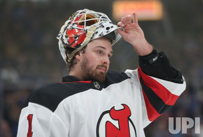 innovative design 89981 36523 New Jersey Devils goaltender Keith Kinkaid - UPI.com