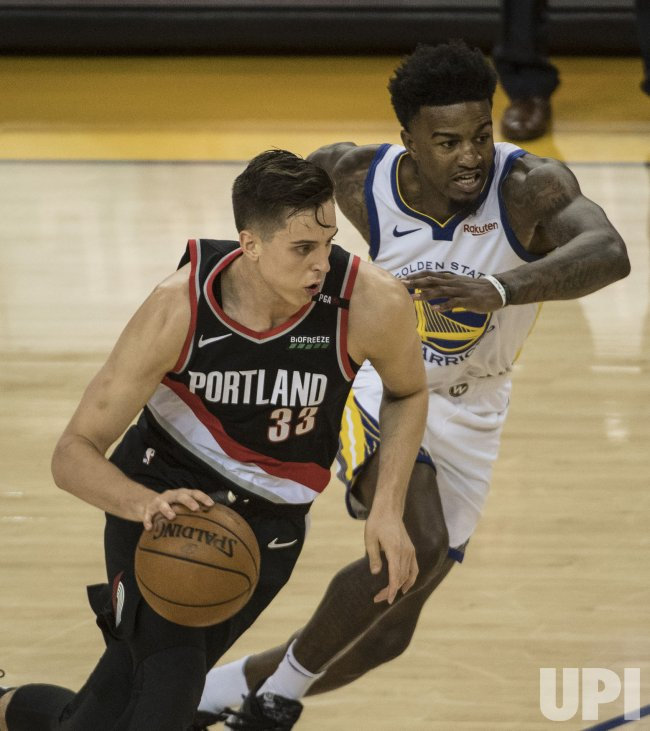 Portland Blazers Zach Collins: Warriors Defeat Trail Blazers In Game 1 Of Conference