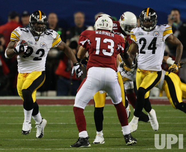 4af77cce Super Bowl XLIII Arizona Cardinals vs. Pittsburgh Steelers in Tampa ...