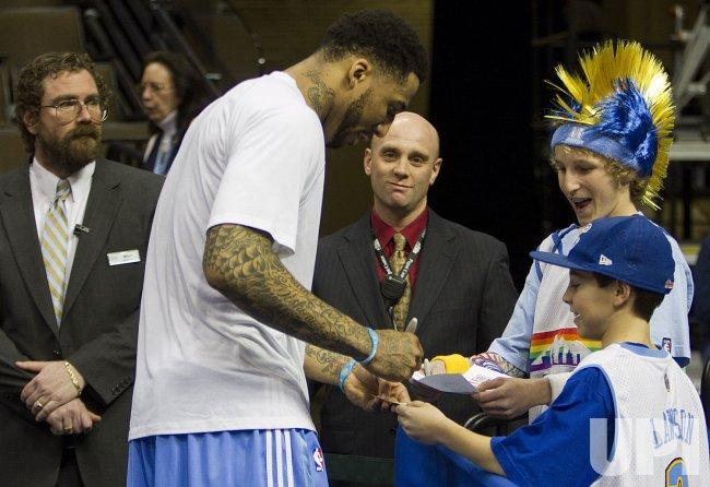 Denver Nuggets Host Boston Celtics .