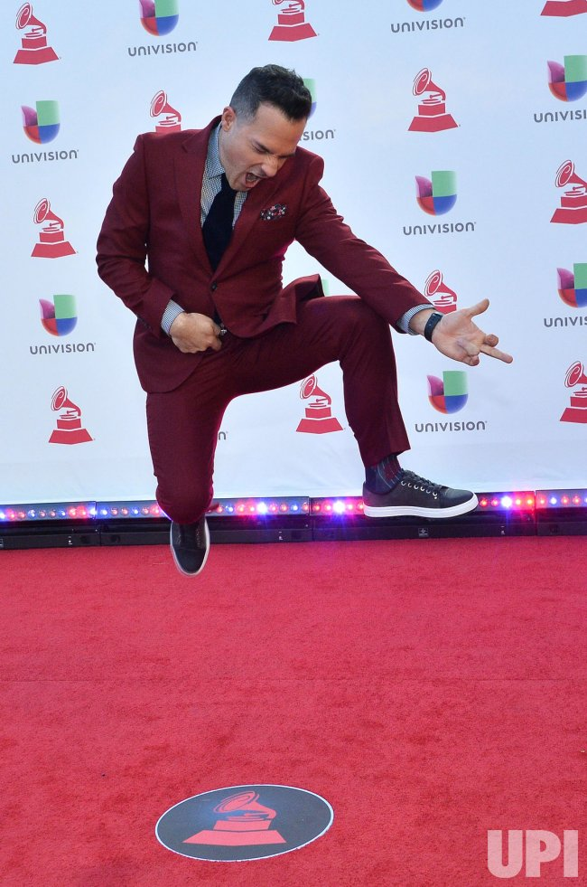 Carlos Calderon attends the 19th annual Latin Grammy Awards in Las Vegas