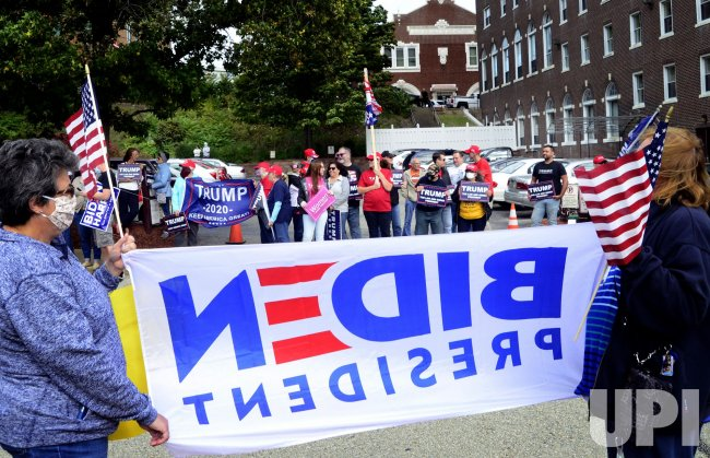 Biden and Trump Supporters in Pennsylvania