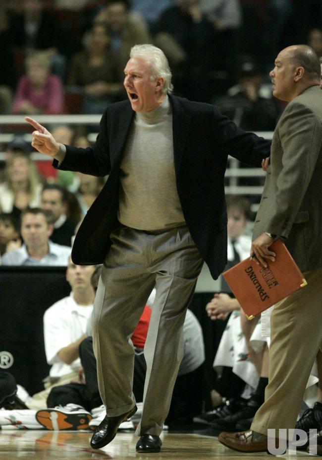 NBA SAN ANTONIO SPURS VS. CHICAGO BULLS
