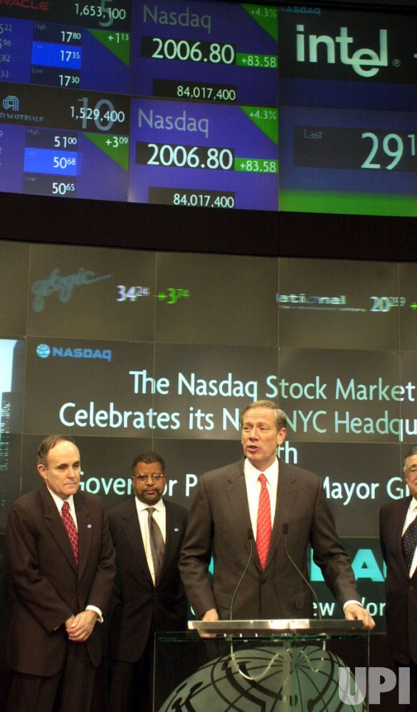 NASDAQ MOVES PERMANENTLY TO NEW YORK CITY