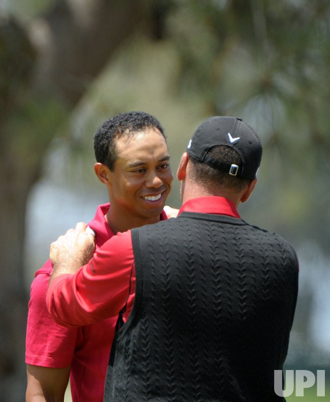 Tiger Woods wins the 108th US Open at Torrey Pines Golf Course in San Diego