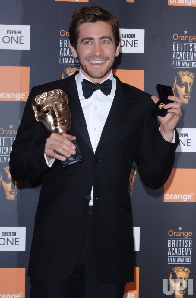 "ACTOR JAKE GYLLENHAAL AT ""ORANGE BRITISH ACADEMY FILM AWARDS"""