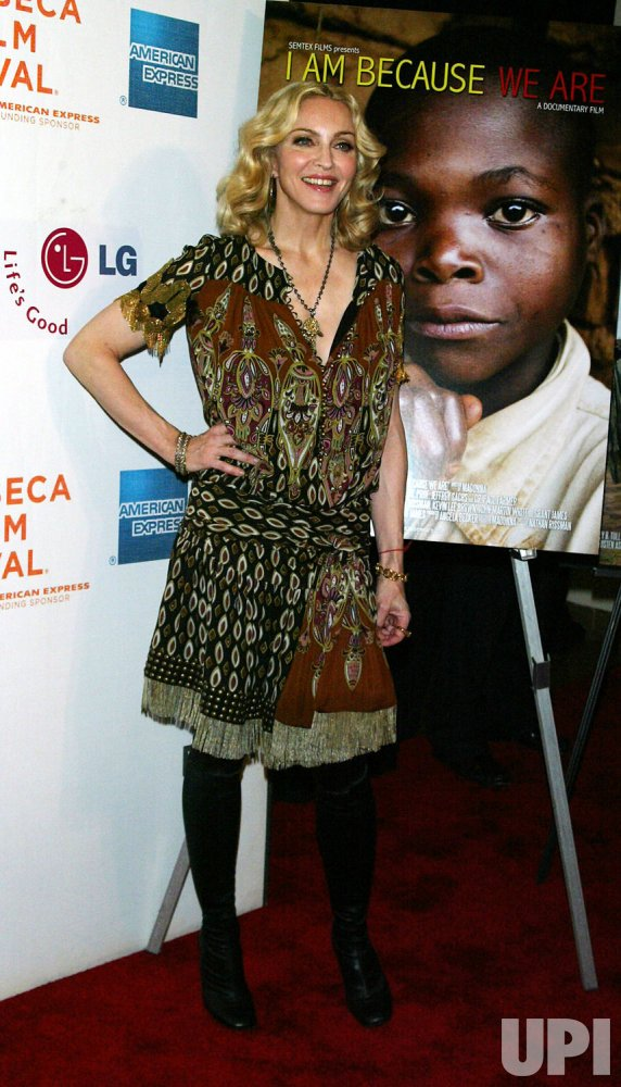 "Tribeca Film Festival premiere of ""I Am Because We Are"" in New York"