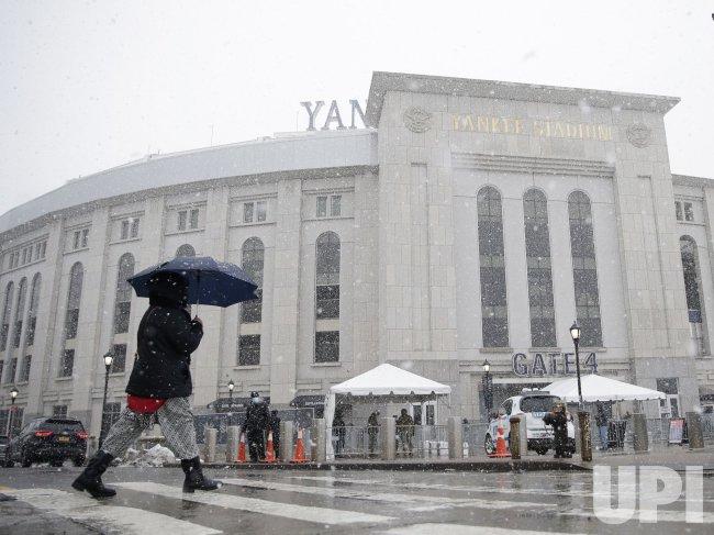 COVID-19 Mass Vaccination Site at Yankee Stadium