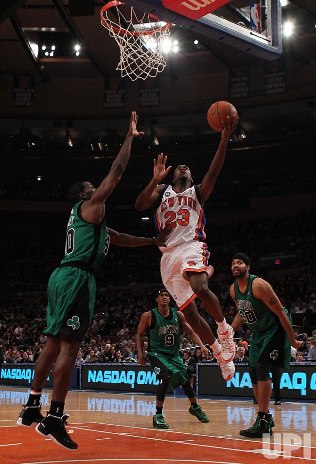 New York Knicks Toney Douglas at Madison Square Garden